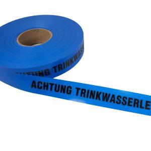Trassenwarnband - Achtung Trinkwasserleitung